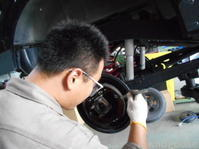JA22ジムニーワイルドウィンド車検整備中(☆∀☆) - ★豊田市の車屋さん★ワイルドグース日記