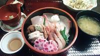 和倉温泉「能登海鮮丼みとね」AKB丼 - 腹ペコ旅日記