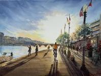 世界旅歩きの映像から - まり子の水彩画