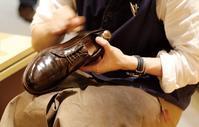 靴磨きの日が近い!! - シューケアマイスター靴磨き工房 銀座三越店