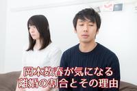 岡本数春が気になる離婚の割合とその理由 - 岡本数春 挑戦ブログ