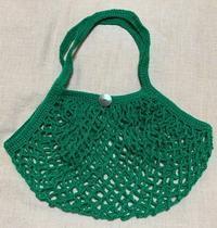 ネット編みのバッグ(鈎針) - 日々綴り