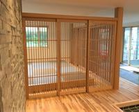 千本格子の建具 - オーダー家具の現場レポート