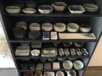豆皿の定位置は玄関 - アオモジノキモチ