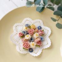 おやつに「花くっきー」 - Sweets Studio Floretta* Flower Cake & Sweets Class@SHIGA