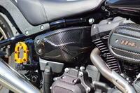 M8 SOFTAIL用ドライカーボンサイドカバー - castom factory noys blog
