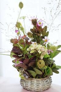 コロナで大阪レッスン行けずとも金澤でブラッシュアップ♪ - お花に囲まれて