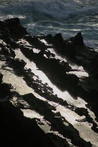 台風一過で海は少し荒れていた@荒崎公園 - meの写真はザンス
