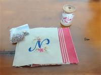 手作りバッグをノエルグッズにリメイク 5 - Lien Style (脱保湿アトピーさんのしまつの良い暮らし)