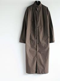 THE HINOKI Stand Up Collar Shirt Dress - Cotton Parachute Cloth(LADIES SELECT) - 『Bumpkins putting on airs』