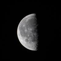 天体観測宵月 - 月見野営