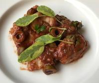 鮟鱇のソテー・赤ワインとトマトソース&梅酒の寒天ゼリー - やせっぽちソプラノのキッチン2