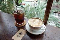 AKHA  AMA COFFEEさんで美味しいラテ - *のんびりLife*