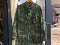 60's U.S.Army jungle fatigue jacket - BUTTON UP clothing