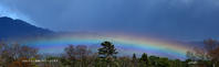 京都御苑に虹を見る - ぎゃらりー竹斎堂