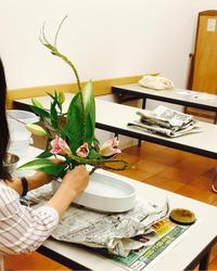 カルチャースクールお稽古 - 自然を見つめて自分と向き合う心の花