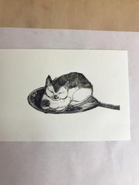 猫スケッチ練習帳仕上がり - ~メインクーンと一緒~デナちな日々
