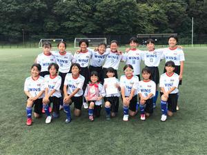 横浜少女サッカー大会カトレア杯(U-12):優勝! - 横浜ウインズ U15・レディース