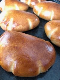 きび砂糖のクリームパン - slow life,bread life