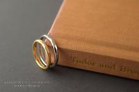 それぞれお好みの幅、テクスチャーのご結婚指輪です*静岡県 W 様 - psyuxe*旅とアトリエのあいだ