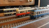 【模型】北陸地方の私鉄の初期カルダン車揃いぶみ - 妄想れいる・・・私の妄想交通機関たち