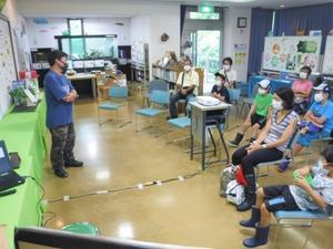 自然学習講座「トンボがよろこぶ環境を知ろう」を開催しました! - 水元かわせみの里水辺のふれあいルーム