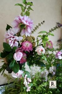 9月の季節のお花便りはすこし秋色の装いになりました - Bouquets_ryoko