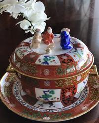 アンティークシルバーの銀器とお花43〜マイバースデイ🎵 - アンティークな小物たち ~My Precious Antiques~