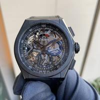 ゼニス デファイ エル・プリメロ21 ブラックセラミック - 熊本 時計の大橋 オフィシャルブログ