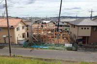 上棟/土手下の住宅/倉敷 - 建築事務所は日々考える