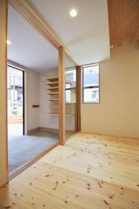 土間玄関/土間のある家・松戸市K邸 - K+Y アトリエ一級建築士事務Blog