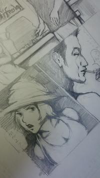 本日の漫画描き - HIRAKAWA JUN 平川 準 描いたり弾いたり