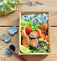 カルディの『上海焼きそば』のおうちごはんと鶏ささみフライのお弁当 - おだやかなとき
