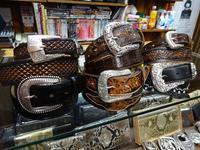 Tony Lama USAベルト入荷しました! - 上野 アメ横 ウェスタン&レザーショップ 石原商店