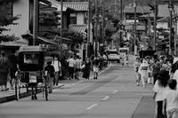 人力車のある光景…嵐山② - Taro's Photo