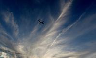 大阪空港の夕雲  2 - 浜千鳥写真館