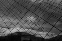 窓ガラスの中の直線 - フォトな日々