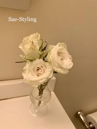 オススメの花の飾り方 - Sae-styling