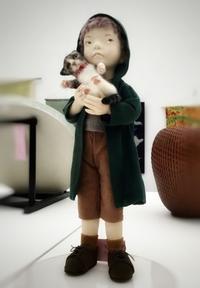 猫とコラボの創作人形! - 杉本創作人形&ペペにゃん