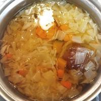 ハーバードなんちゃらスープ (と、ヤモちゃんのこと) - 台所の窓から