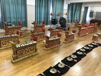 中学校の協同学習でのガムラン体験 - 大阪でバリ島のガムラン ギータクンチャナ PENTAS@GITA KENCANA