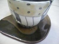 ■書き落とし湯呑■ - ちょこっと陶芸
