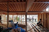 現し屋根垂木/土手下の住宅/倉敷 - 建築事務所は日々考える