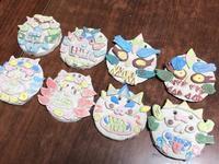 稲沢教室、コロナ除けシーサー制作。 - 大﨑造形絵画教室のブログ
