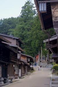 長野そぞろ歩き・塩尻:奈良井宿(5) - 日本庭園的生活