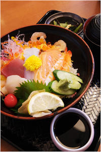 海鮮丼 - HIGEMASA's Moody Photo