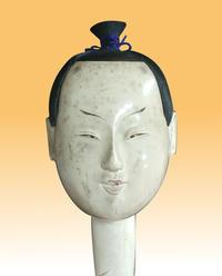 雛人形(殿)のお顔の汚れ落とし - 人形修理職人ネットワーク福田匠庵 匠の工房便り