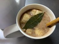 今朝のマサラチャイと昨日の緑茶♪ - いととはり