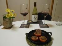 奥野田ワイナリーのスミレ・ルージュをいただきます。 - のび丸亭の「奥様ごはんですよ」日本ワインと日々の料理