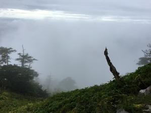 9月17日(木)小雨 - つるぎさん山小屋日記